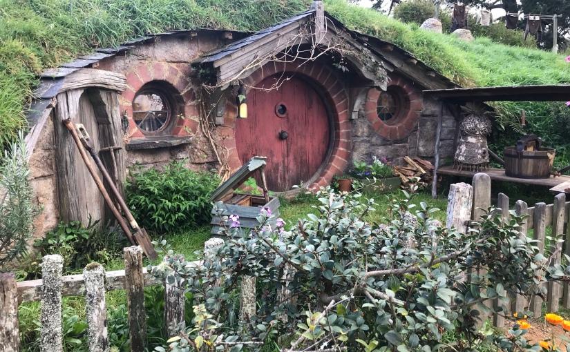 Hobbiton movie setvisit